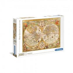 Clementoni puzzle 2000 hqc ancient map ( CL32557 )
