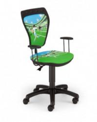 Dečija daktilo stolica Ministyle TS22 GTP28-BL La Liga SH