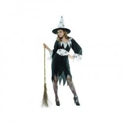 Dečiji kostim 86689/L Beli pauk veštica