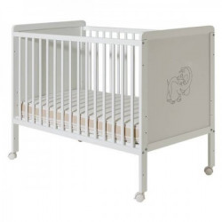 Dečiji krevetić happy beli ( 029 )