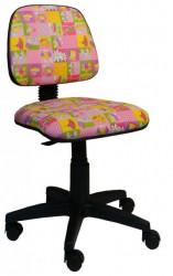 Dečja daktilo stolica - BORA KID Pink - Cvet