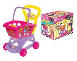 Dede Barbie kolica sa korpom za kupovinu i namirnicama ( 019728 )