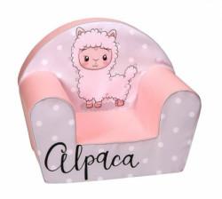 DeltaTrade fotelja stolica dt18 1916 roze ovcica ( 452.189164 )