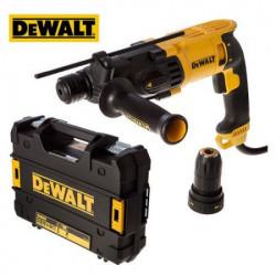 DeWalt D25134K elektro pneumatski čekić kombinovani + 26mm 800W + brzostezna glava