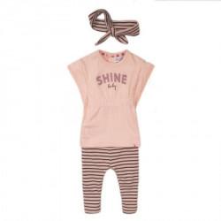 Dirkje komplet (majica kratkih rukava, helanke), devojčice ( A047312-80 )