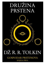 DRUŽINA PRSTENA - Dž.R.R.TOLKIN - I knjiga - mek povez ( R0062 )