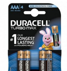 Duracell Turbo AAA1/4 Duralock ( DURACELL TURBO AAA )