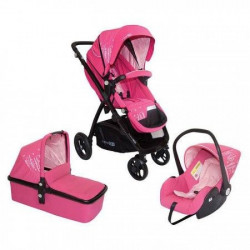 FreeON Kolica Smart Trio pink ( 33289 )