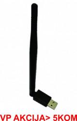 Gembird 5dBi high power USB wireless adapter 150N (447) WNP-UA150P-01 **