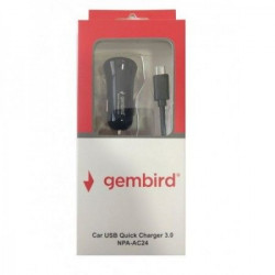 Gembird NPA-AC24 QC3.0 brzi auto punjač 15W ( ADPC24 )