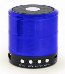 Gembird portable bluetooth speaker +handsfree 3W, FM, microSD, AUX, blue SPK-BT-08-B