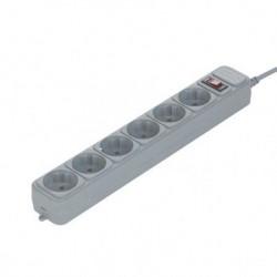 Gembird Razvodnik 6 mesta 3m 1.5mm2 + prekidač i zaštita ( SPG6-B-10C )