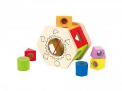 Hape drvena igračka pogodi oblik ( E0407 )