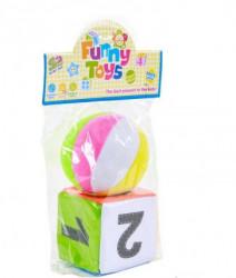 HK Mini igračka mekana loptica i kocka ( A014014 )