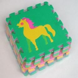 Hk Mini podne puzzle životinje 10kom ( 6261271 )
