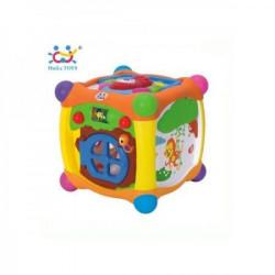 HuiLeToys Igračka Magic cube box 18+ m. ( HT936 )