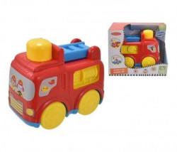 Infunbebe Igracka za bebe auto - fire engine ( PL7001S )
