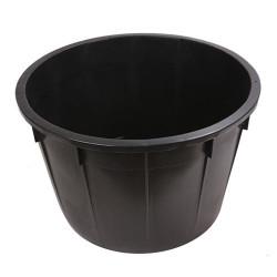 Kaca okrugla 500 l crna