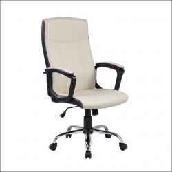 Kancelarijska fotelja 9327 od eko kože - Bež ( 755-982 )