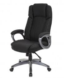 Kancelarijska stolica OFFICE STAR od štofa - Crna