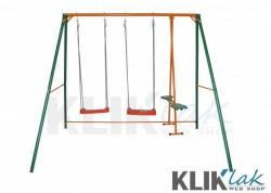 Kliklak - Ljuljaska za dvorište 250x190x210