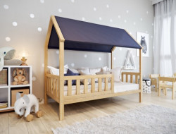 Krevet kućica sa dušekom premium 160x80 DOMEK ( 7721 )