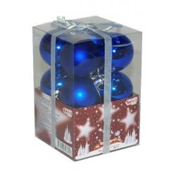 Kuglice za jelku 5 cm 12 kom plave ( 51-304000 )