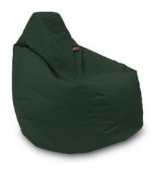 Lazy Bag - fotelje - prečnik 90 cm - Tamno zeleni