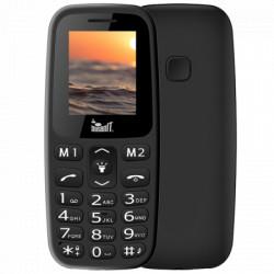 """Meanit Mobilni telefon, 1.77"""" ekran, Dual SIM, BT, SOS dugme, Crni"""