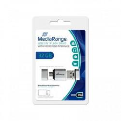 MediaRange 32GB sa micro(OTG) adapterom USB 2.0 MR932 Flesh Memorija ( UFMR932 )