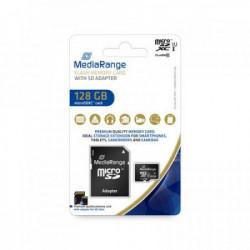 Mediarange GERMANY MEMORIJSKE KARTICE 128GB MICRO SDXC/UHS-1/+ADAP C10/MR945 ( MCMR945/Z )