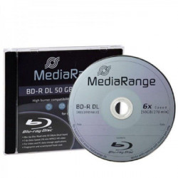 MediaRange MR506 BLU-RAY 50GB BD-R DL 6X ( 5250MR6/Z )