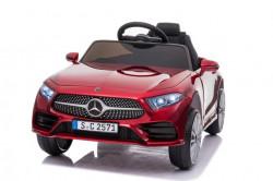 Mercedes CLS 350 Licencirani auto na akumulator sa kožnim sedištem i mekim gumama - Crveni