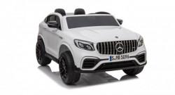 Mercedes Licencirani Dvosed 4x4 model 311 sa kožnim sedištima i mekim gumama - Beli