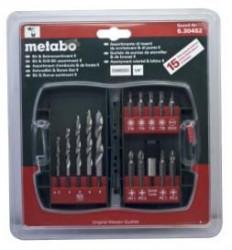 Metabo pinovi i burgije set 15kom ( 630452000 )