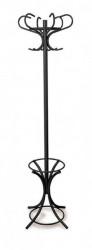 Metalni čiviluk sa držačem za kišobrane - VENEZIA CRNI