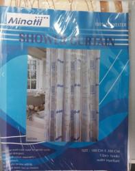 Minotti Kupatilska zavesa - poliester 200x180 cm BEŽ ( MZ004 )