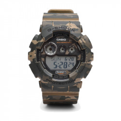 Muški G Shock Casio Multifunkcionalni Military Camouflage Sportski Analogno Digitalni Ručni Sat