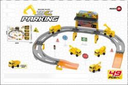Parking sa radnim mašinama ( 982139 )