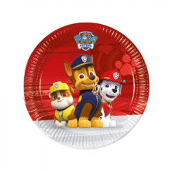 Paw patrol ready for action papirni tanjiri 8 kom ( PS89775 )