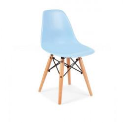 Plastična stolica CHARLIE DEČIJA - Plava