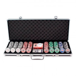 Poker set Royal flush 500kom u koferu - Low Stakes ( MAN-D-2099MRF-LS )