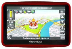 "Prestigio GPS GeoVision 5900 5"" 4GB IGO preinstalled maps of full Europe (PGPS5900EU4HDNG)"