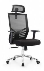 Radna stolica SB-A677 - crni štof