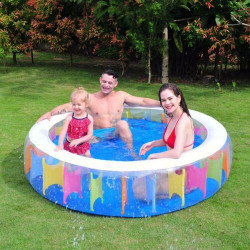 Rainbow bazen na naduvavanje za decu 190x50cm ( 26-320500 )