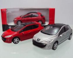 Rastar automobil Peugeot 308 1:43 - crveno ( A013829 )