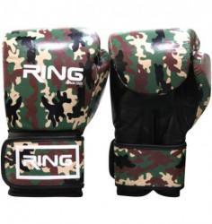 Ring rukavice za boks 10 OZ kozne - RS 3311-10 army