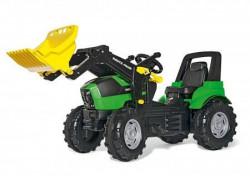 RollyToys Traktor Deutz Agrotron utovarivač ( 710034 )