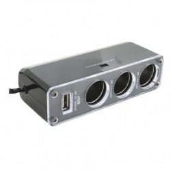 SAL Razdelnik upaljača sa USB punjačem ( SA023 )