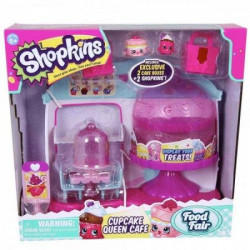 Shopkins set cupcake queen cafe 2 figurice ( ME56081 )
